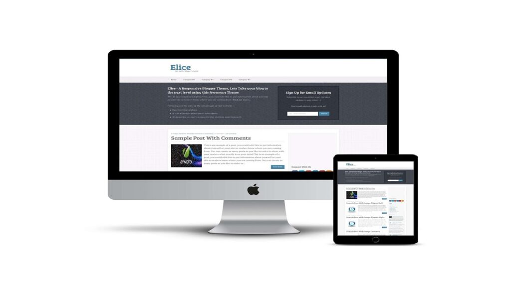 Elice Blogger Templates