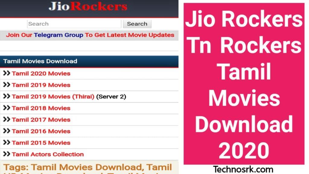 Jio Rockers Tamil Telugu Malayalam Movie Download 2021