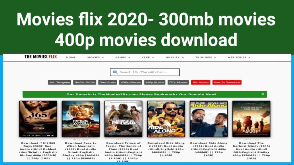 Moviesflix pro 2021- 300mb movies 480p movies download