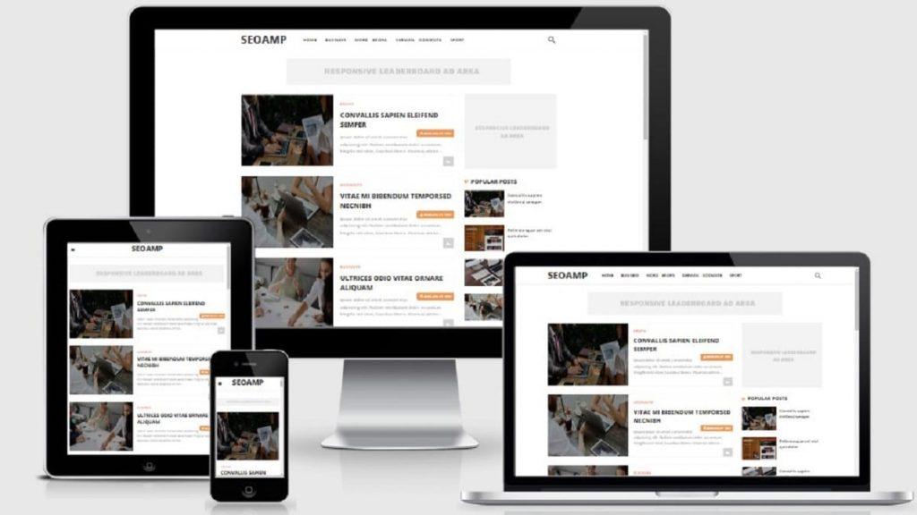 Seoamp Responsive AMP Blogger Template