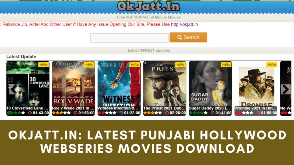 Okjatt.in Latest punjabi hollywood webseries movies download